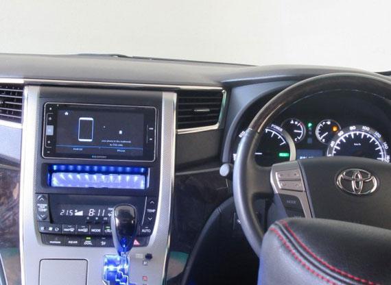 2012 Toyota vellfire Hybrid ZR